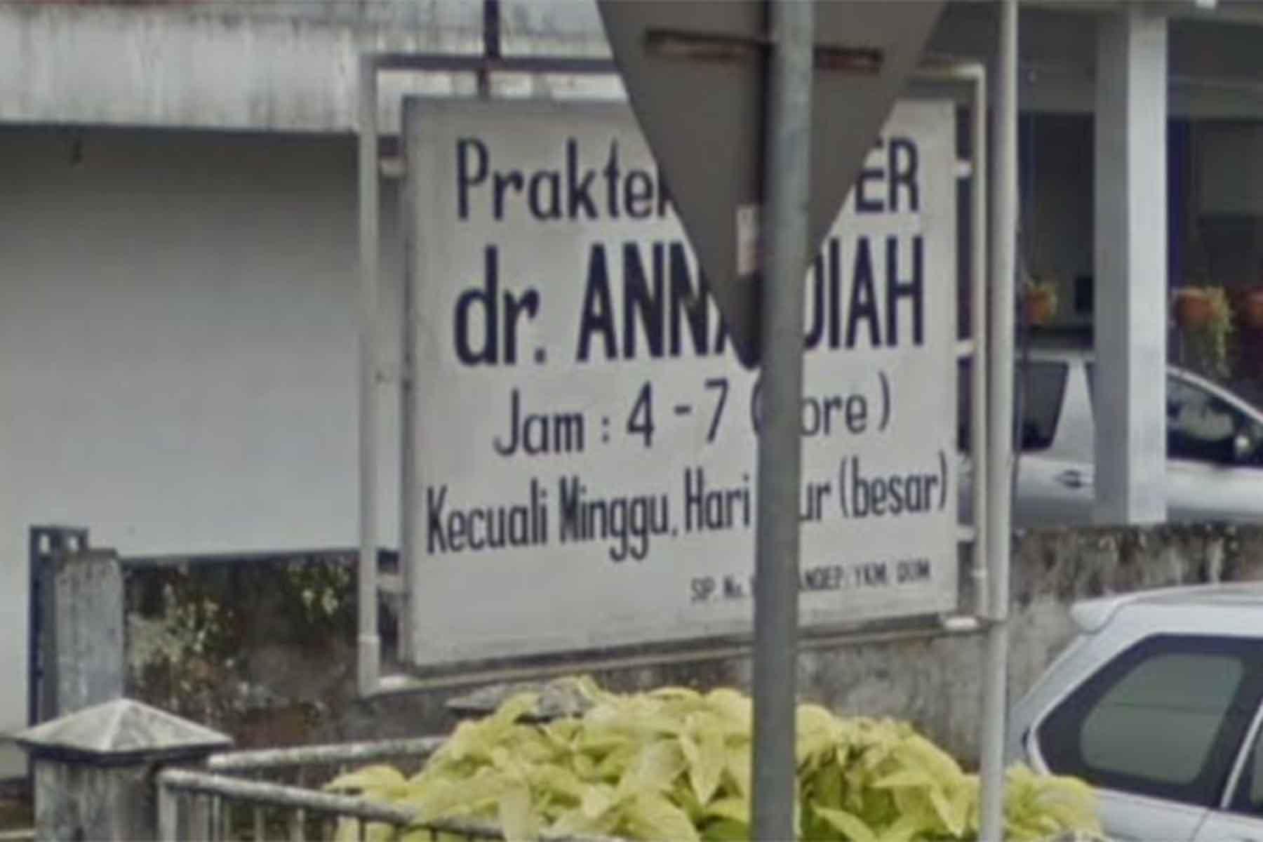 Alamat Praktek Dokter Anna Diah Di Parungkuda Sukabumi ...